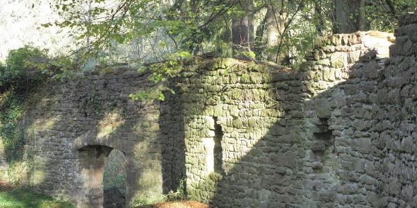 Burg Stolzeneck Außenaufnahme