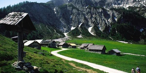 Ursprungalm chalets - Preuneggtal valley