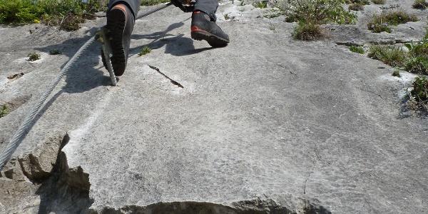 Klettersteig-Gehen