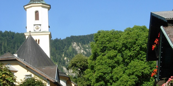 Pfarrkirche von St. Gilgen
