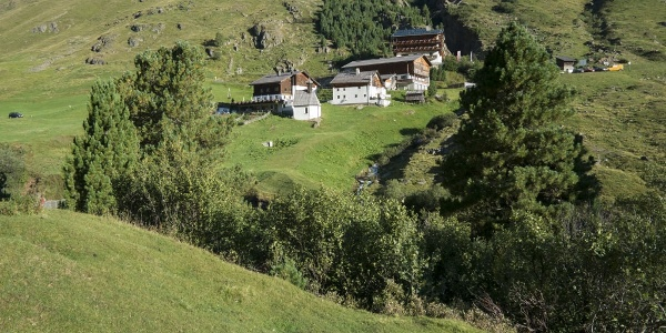 Die Rofenhöfe - höchste ständig bewohnte Dauersiedlung der Ostalpen