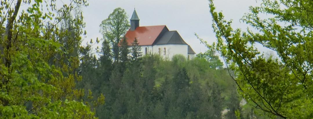 Hörnleberg mit Wallfahrtskirche