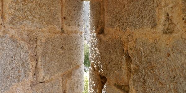 Schiessscharte am Castell d´ Alaro