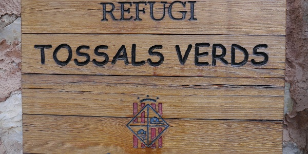 Refugi Tossals Verds (540 m)