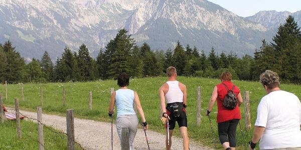Nordic Walking in Bolsterlang
