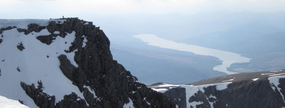 Aussicht vom Gipfel des Ben Nevis
