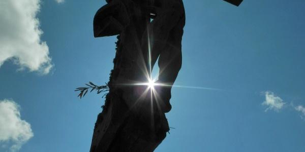 Das große Kreuz auf der Crujeta.