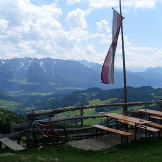 Ausblick vom Spitzsteinhaus