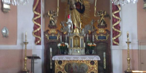 Frauenbergkapelle (View inside)