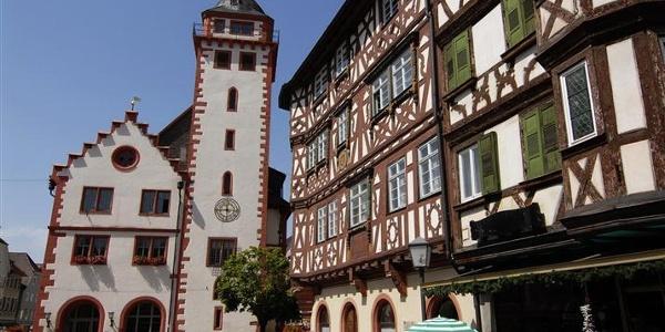 Am Mosbacher Marktplatz