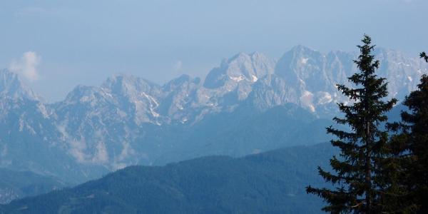 Aussicht von Eisenkappler Hütte