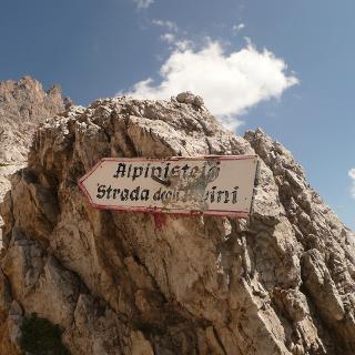 Der Alpinisteig in den Sextener Dolomiten