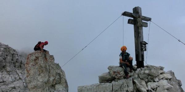 Am Gipfel der Rotwand
