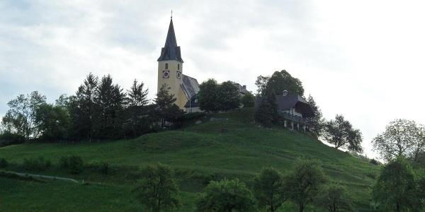 Frauenstein ist der Ausgangsort dieser Etappe.