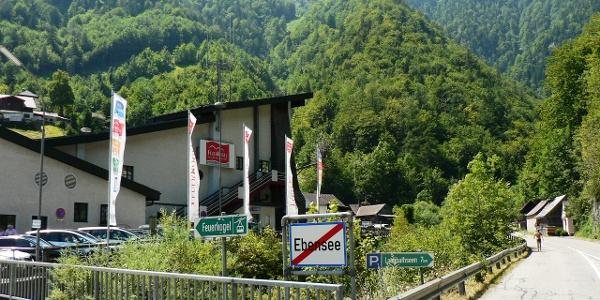 Feuerkogel-Seilbahnstation in Ebensee