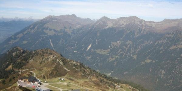 Startpunkt der Tour: Bergrestaurant Nova Stoba
