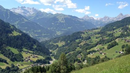 ANstieg zum Kristberg