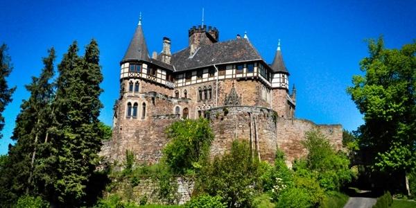 Schloss Berlepsch im Sommer
