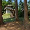 rekonstruierter Limeswachturm bei Großerlach-Grab