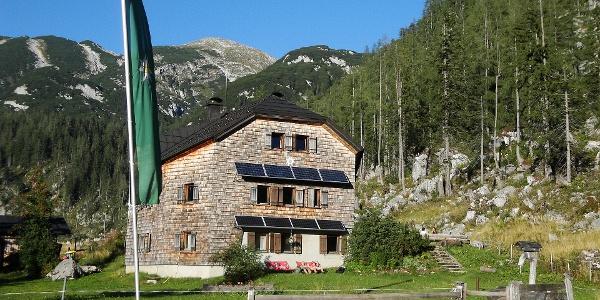 Ischler Hütte am 5. September 2013