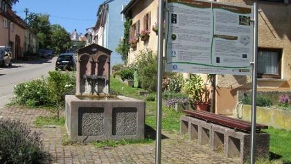 Steigstraße in Simmozheim