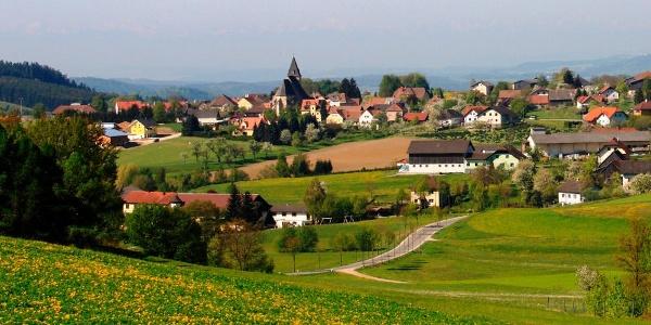 Maria Laach im Zentrum des Naturparks Jauerling-Wachau