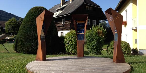 Arriach Alpe-Adria-Trail Infopoint
