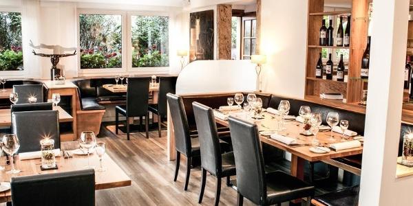 Gastraum des Restaurants