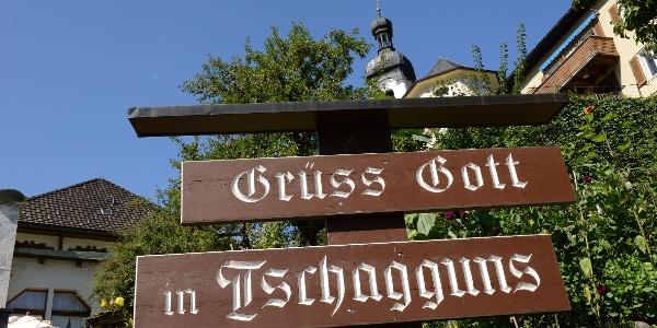 Grüss Gott in Tschagguns