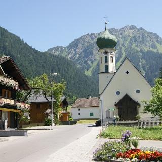 Martinskirche in Partenen