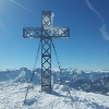 Gipfelkreuz des Kasbergs