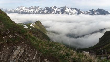 Ausblicke - Daumengruppe und Mindelheimer Klettersteig