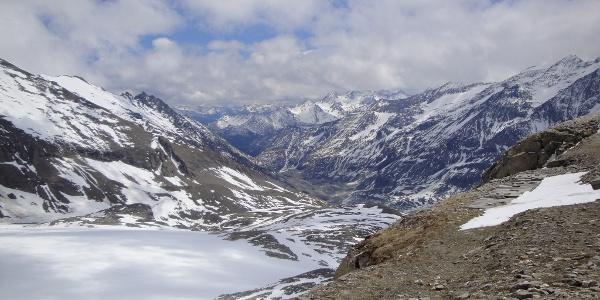 Blick Richtung Franz-Josefs-Höhe