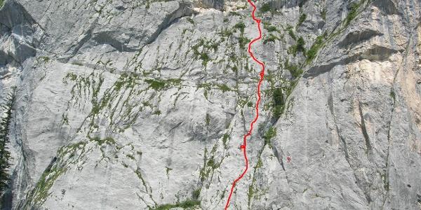 Der Routenverlauf