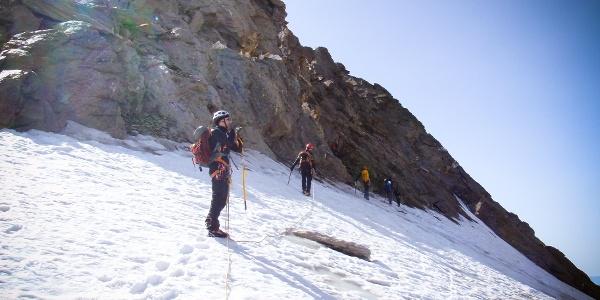 Einstieg zur Hoch Wilde Nordspitze