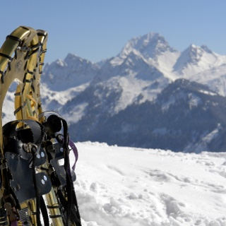 Winter- bzw. Schneeschuhwanderung zur Gaßner Alpe