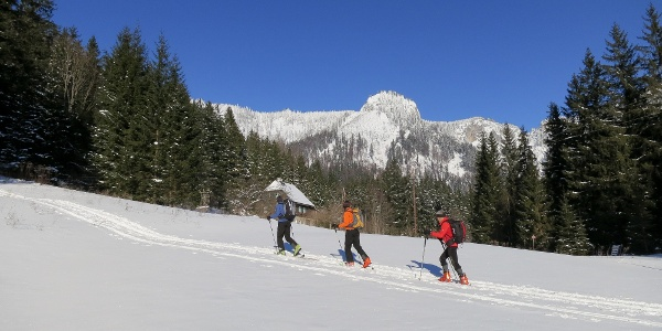 Aufstieg im Tirol