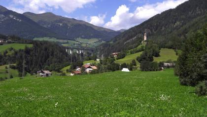 Unerwartete Landschaft im Transitgebiet Wipptal - Unterried
