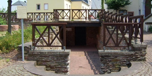 Eingang Kellerraum
