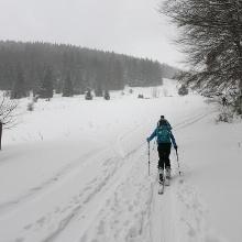 Aufstieg vor der Lilienfelderhütte