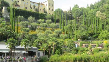 Botanischer Garten Schloss Trauttmansdorff bei Meran