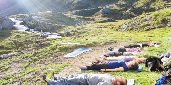 Yoga Energieplatz Neue Regensburger Hütte