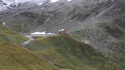 Blick zurück zur Neuen Reichneberger Hütte