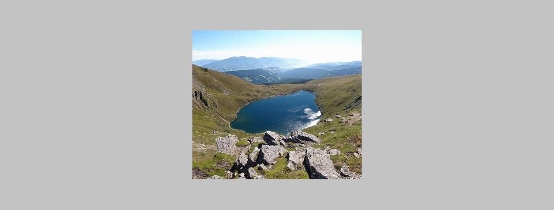 Wildsee mit wunderbarem Ausblick