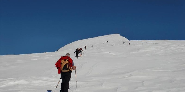 Gipfelanstieg Sandfeldkopf