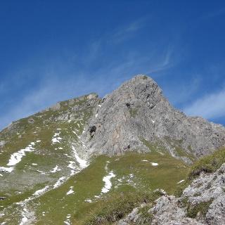 Hochkünzelspitze von der Biberacher Hütte