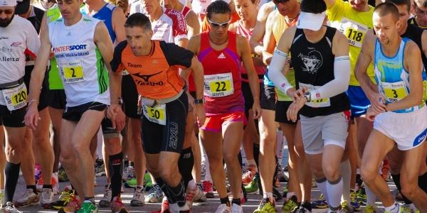 Départ du Zermatt Marathon à Saint-Nicolas