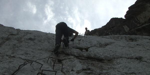 Klettersteig Blodigrinne - Drusenfluh