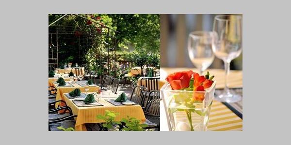 Hotel Restaurant Bock Lahnstein Terrasse