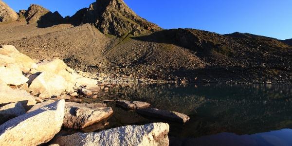Rinnenspitze mit See